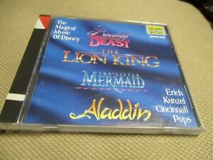"""CD """"THE MAGICAL MUSIC OF DISNEY : BEAUTY AND THE BEAST / LION KING / ALADDIN ..."""