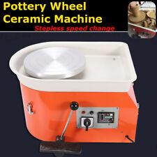25CM Electric Pottery Wheel Ceramic Machine 250W For Work Clay Art Craft 220V AU