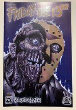 Friday The 13th Bloodbath #1, Platinum Foil Edition NM 9.4 Avatar Press