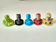 Avengers Stamp New Marvel 5pcs Iron Man Hulk Thanos Black Panther Vision Rare