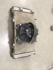 Radiator & Fan for 2008 KTM 525 XC (GOOD SHAPE)