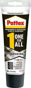 Pattex One for All Crystal Montagekleber 90g Montage AllesKleber Universal