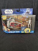 Star Wars Clone Wars Republic Scout Speeder W/ ARF Trooper