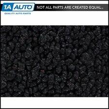 for 59 Ford Ranchero with Power Seats 80/20 Loop 01-Black Complete Carpet Molded