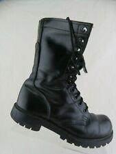 """CAROLINA Crorcan 10"""" Black Sz 7 R Men Combat Boots"""