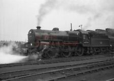 PHOTO  LMS 42924 IN THE SHED YARD AT STOCKPORT 3/61   MORE B