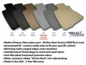 Custom Fit Carpet Floor Mats For 2011-2017 Dodge Charger