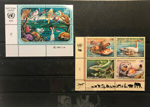 United Nation stamps from the 90's and 00's, Geneva Issuing Office, Nature topic