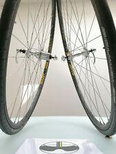 campagnolo c record wheelset 9-10-11 speed VGC condition mavic ceramic clincher