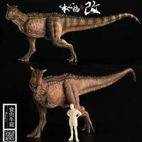 Nanmu 1/35 Carnotaurus Figure Carno Statue Dinosaur Model Collector Toy Kid Gift