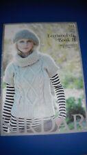 Sirdar Knitting Pattern Booklet: Eco Wool DK, Book II, Ladies & Girls, 341