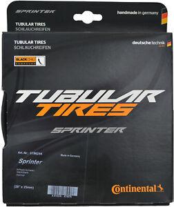 180tpi Black Folding 650c x 22 Continental Sprinter Tubular Tire