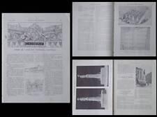 CONSTRUCTION MODERNE n°40 1914 PARIS PASSAGE VIGNON, TOULOUSE FONTAINE ISAURE
