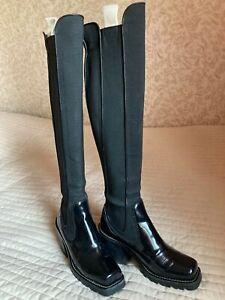 Authentic Louis Vuitton stockings boots size 38 EU, 8 US