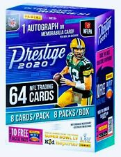 2020 Panini Prestige Football Blaster Box New Sealed 1 auto of Mem