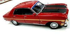 Classic Carlectables Ford XW Falcon GTHO Phase 1 Candy Apple Red 1:18