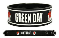 GREEN DAY Rubber Bracelet Wristband << 21 Guns >> White