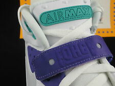Nike Air Force Max 2013 , White Pure Platinum Violet, Size 9.5, CB, Barkley $140