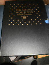 THE SECOND WORLD WAR BY WINSTON CHURCHILL AND LIFE 2 VOULME SET WITH RECORD