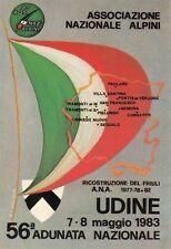 A4861) ALPINI, ANA, 56 ADUNATA NAZIONALE UDINE 1983.