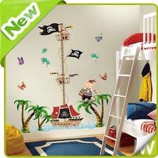 Piratenschiff Größen Tabelle Wand Sticker Baum Kinderzimmer Baby