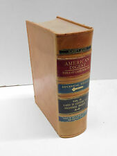 American Law Digest 1897 to 1906 Decennial Edition Vol. 21  Leather Decorative