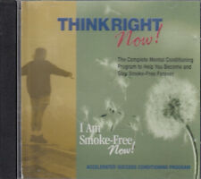 I Am Smoke Free Now CD Audio Program Mental Conditioning Quit Stop Smoking