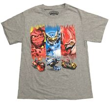 Skylanders Boys Character Short Sleeve T-Shirt Size Large Cotton/Poly NWOT