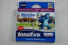 🔶Vtech InnoTab Disney Pixar Monsters University Game Cartridge (80231900)