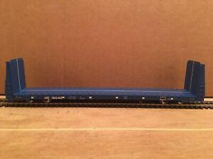 HO Atlas Hollis & Eastern Bulkhead Flat Car HE #16042 NS CSX BNSF UP KCS CN CP