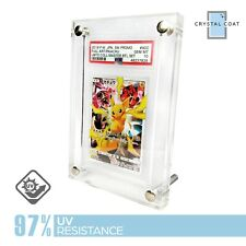 PSA Graded Trading Card Frame/stand UV Resistant Hardened Acrylic Display Case