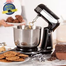 Kitchen Electric Black Stand Mixer Mixing Cooking Dough 6 Speed Cake Maker Bowl