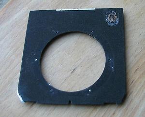 genuine Linhof 45 Technika Lens board panel with 61mm hole