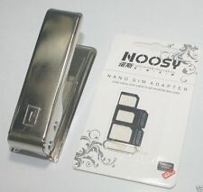 Micro Sim Card Cutter For iPhone With 3 Adaptor & Ejector Pin