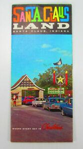 Santa Claus Land Brochure Flier Vintage Cars