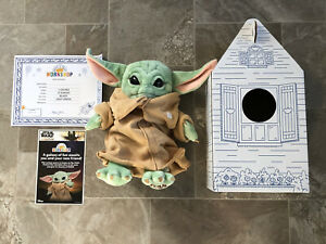 Build a Bear The Child Baby Yoda Star Wars The Mandalorian Plush 5-in-1 Sound