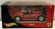 Hot Wheels Red Ferrari 333 SP Passione 1:43 Scale