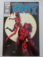MARVEL COMICS PRESENTS #76 (1991) WOLVERINE WEAPON X! BARRY WINSOR SMITH!