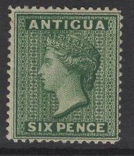 ANTIGUA SG29 1884 6d DEEP GREEN UNUSED