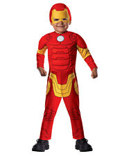 "Iron Man Dlx Padded Muscle Chest Costume,Toddler,Age 1-2 yrs,HEIGHT 2' 11""-3' 4"""