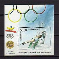 15725) Tajikistan 1993 MNH New S/S Olympic Games
