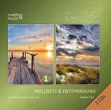 Wellness & Entspannung 2CDs (Vol. 1+2): Gemafreie Meditationsmusik, Matthesmusic