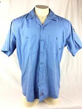 Dickies Work Short Sleeve Shirt Yosemite Shoulder Patch Mens XL Size Cotton Poly