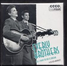 EVERLY BROTHERS All Have To Do Is Dream 4-CD BOX & BOOKLET SEALED MEMBRAN GERMAN