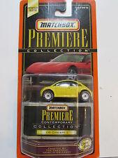 MATCHBOX PREMIERE VW CONCEPT 1 YELLOW