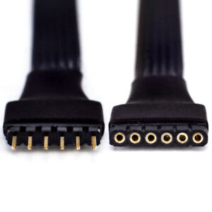 SPACER Extension Cable | for Philips Hue Lightstrip Plus V3 | upto 10m/30' | Blk