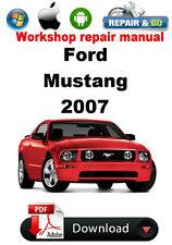 Ford Mustang 2007 Workshop Repair Manual