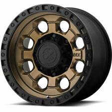 4 - 18x9 Black Bronze Wheel American Racing ATX AX201 6x5.5 0