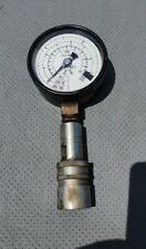 Used Enerpac Gf 715 Pressure Gauge With Pioneer 8250 Hydraulic Coupling Attached