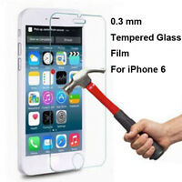 """New Premium Tempered Glass Film Screen Protector for Apple 4.7"""" iPhone 6s / 6"""